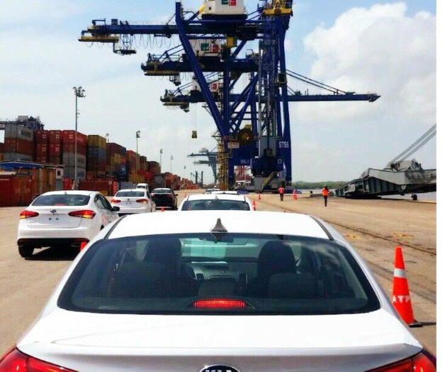 Photo of Arranca exportación de autos KIA en puerto de Altamira