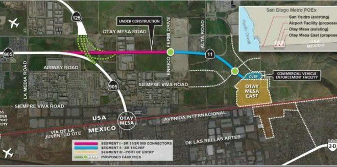 Urgen Terminar Trabajos De Otay 2 En Tijuana Transporte Mx