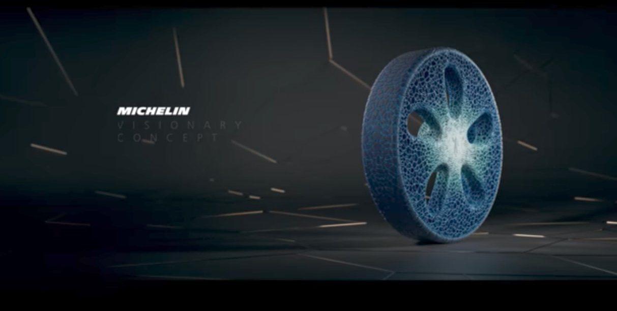 """Photo of Michelin presenta La """"Llanta del futuro"""", sin aire y de impresión 3D"""