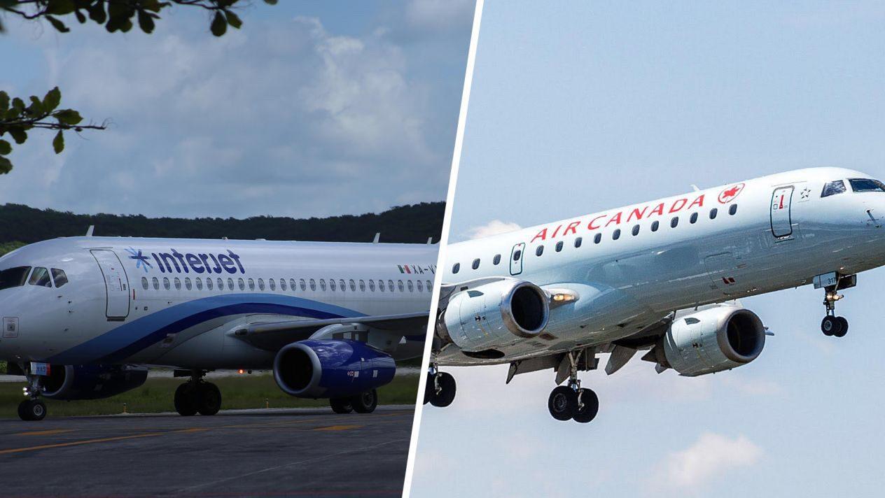 Photo of Interjet y Air Canadá se alían y amplían rutas